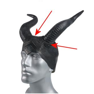 Maske (hörner) ZOELIBAT - BESCHÄDIGT, ZOELIBAT