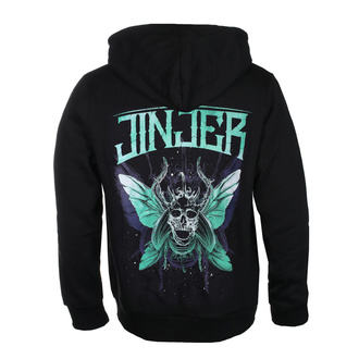 Herren Hoodie Jinjer - Butterfly Skull - NAPALM RECORDS, NAPALM RECORDS, Jinjer
