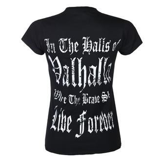 Damen T-Shirt VICTORY OR VALHALLA - THOR'S HAMMER, VICTORY OR VALHALLA