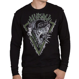 Herren Sweatshirt - SWEAT HARDCORE MONKEY VERT - HYRAW, HYRAW