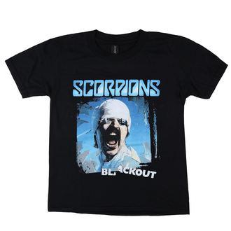 Kinder T-Shirt Metal Scorpions - Blackout - LOW FREQUENCY, LOW FREQUENCY, Scorpions