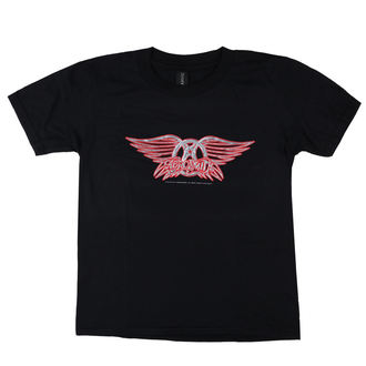 Kinder T-Shirt Metal Aerosmith - Logo - LOW FREQUENCY, LOW FREQUENCY, Aerosmith