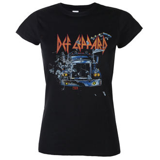 Damen T-Shirt Metal Def Leppard - On through the night Girlie - LOW FREQUENCY, LOW FREQUENCY, Def Leppard