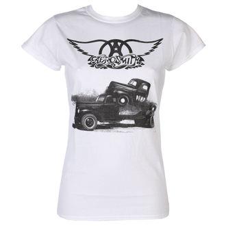 Damen T-Shirt Metal Aerosmith - Pump - LOW FREQUENCY, LOW FREQUENCY, Aerosmith