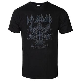 Herren T-Shirt Metal Def Leppard - Sheffield 1977 - LOW FREQUENCY, LOW FREQUENCY, Def Leppard