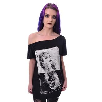 Damen T-Shirt Heartless - TAROT - SCHWARZ, HEARTLESS