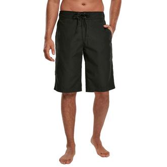 Herren Shorts Badeshorts URBAN CLASSICS - black, URBAN CLASSICS
