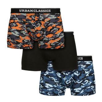 Männer Boxershorts URBAN CLASSICS - 3er-Pack, URBAN CLASSICS