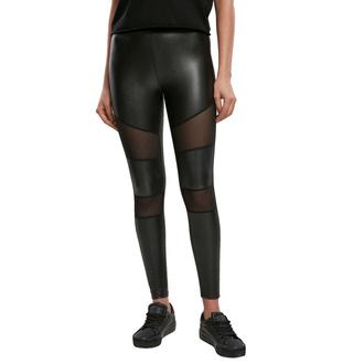 Damenhose (Leggings) URBAN CLASSICS - Mesh Kunstleder Leggings, URBAN CLASSICS