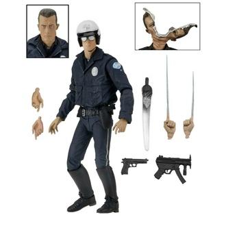Cartoon Figur Terminator 2 - T-1000, NNM, Terminator