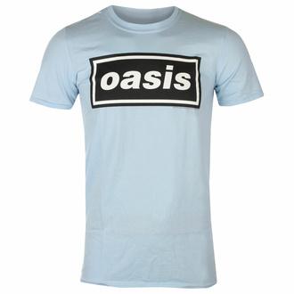 Herren-T-Shirt Oasis - Decca Logo Himmelblau, NNM, Oasis