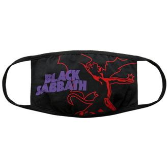 Gesichtsmaske  Black Sabbath - Red Thunder V1, ROCK OFF, Black Sabbath
