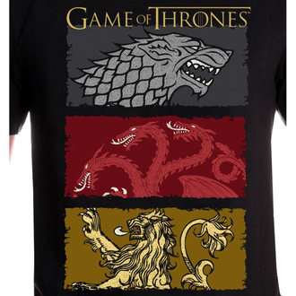 Herren T-Shirt Film Game of thrones - THE HOUSES OF THE KING - LEGEND, LEGEND, Game of Thrones: Das Lied von Eis und Feuer