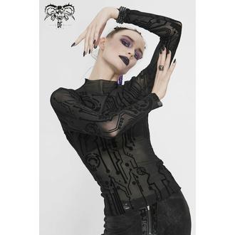 Frauenshirt mit langen Ärmeln DEVIL FASHION, DEVIL FASHION