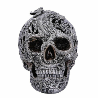 Dekoration Schädel Cranial Drakos - (Silber), NNM