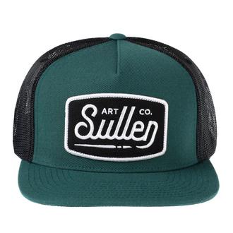 Kappe Cap SULLEN - BRUSH STROKE - Teal / SCHWARZ, SULLEN