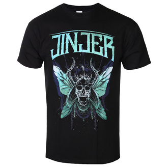 Herren T-Shirt Metal Jinjer - Butterfly Skull - NAPALM RECORDS, NAPALM RECORDS, Jinjer