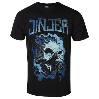 Herren T-Shirt Metal Jinjer - Gasmask Skull - NAPALM RECORDS, NAPALM RECORDS, Jinjer