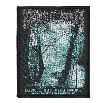 Patch Aufnäher Cradle Of Filth - Dusk And Her Embrace - RAZAMATAZ, RAZAMATAZ, Cradle of Filth