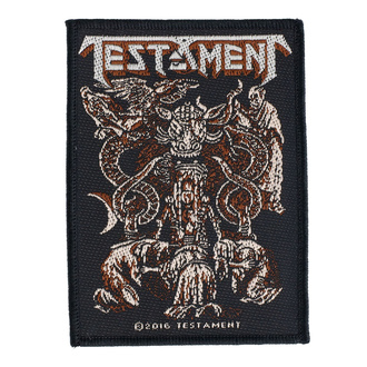 Patch Aufnäher Testament - Demonarchy - RAZAMATAZ, RAZAMATAZ, Testament