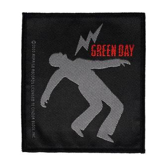 Patch Aufnäher Green Day - Lightning Bolt - RAZAMATAZ, RAZAMATAZ, Green Day