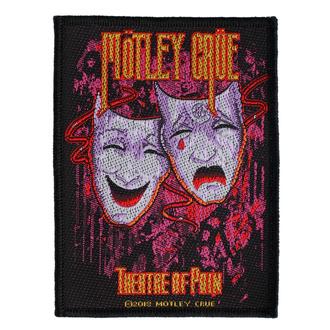 Patch Aufnäher Mötley Crüe - Theatre Of Pain - RAZAMATAZ, RAZAMATAZ, Mötley Crüe