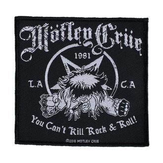 Patch Aufnäher Mötley Crüe - You Can't Kill Rock N Roll - RAZAMATAZ, RAZAMATAZ, Mötley Crüe