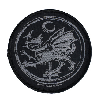 Patch Aufnäher Cradle Of Filth - Order Of The Dragon - RAZAMATAZ, RAZAMATAZ, Cradle of Filth