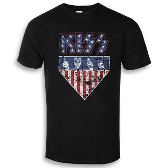 Herren T-Shirt Film Kiss - Stars & Stripes - HYBRIS, HYBRIS, Kiss
