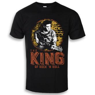 Herren T-Shirt Elvis Presley - The King Of Rock ´n Roll - HYBRIS, HYBRIS, Elvis Presley