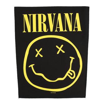 Patch groß Nirvana - Smiley - RAZAMATAZ, RAZAMATAZ, Nirvana