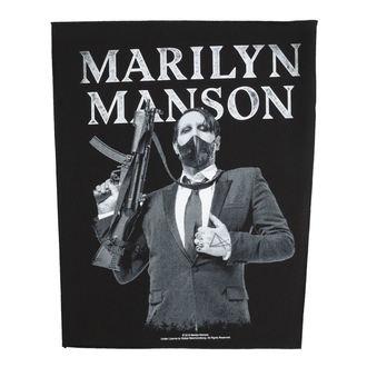 Patch groß Marilyn Manson - Machine Gun - RAZAMATAZ - BP1099