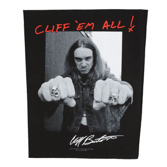 Patch groß Metallica - Cliff Em Aill - RAZAMATAZ, RAZAMATAZ, Metallica