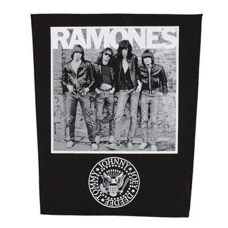 Aufnäher groß RAMONES - 1976 - RAZAMATAZ, RAZAMATAZ, Ramones