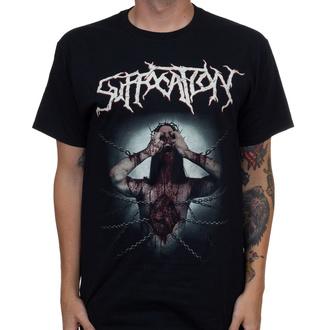 Herren T-Shirt Metal Suffocation - Jesus Wept - INDIEMERCH, INDIEMERCH, Suffocation