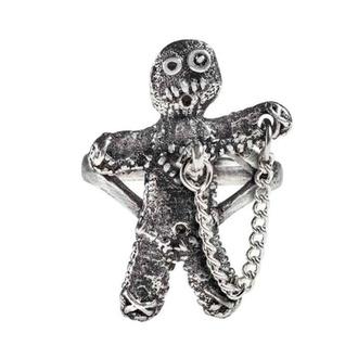Ring ALCHEMY GOTHIC - Voodoo Doll, ALCHEMY GOTHIC