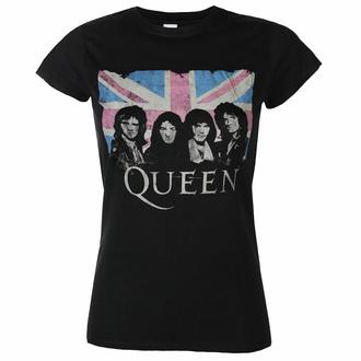Frauen-T-Shirt Queen - Verpackt Gewerkschaft Jack - Schwarz - ROCK OFF, ROCK OFF, Queen