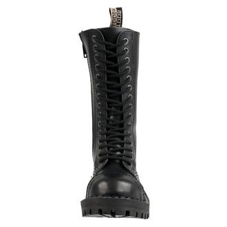 Unisex Lederstiefel Boots - STEEL, STEEL