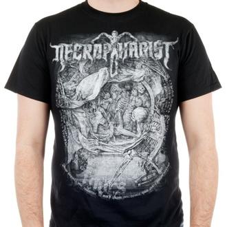 Herren T-Shirt Metal Necrophagist - Mors - INDIEMERCH, INDIEMERCH, Necrophagist