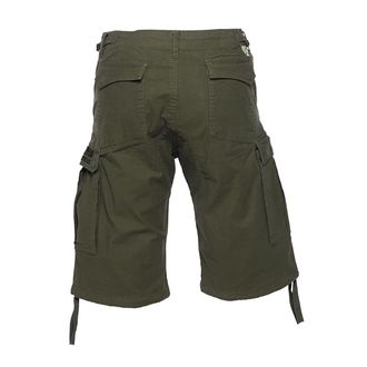 Herren Shorts WEST COAST CHOPPERS - CARGO - Olive grün, West Coast Choppers