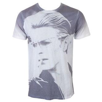 Herren T-Shirt David Bowie - Wild Profile - Weiß - ROCK OFF, ROCK OFF, David Bowie