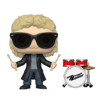 Figur ZZ Top - Frank Beard - POP!, POP, ZZ-Top