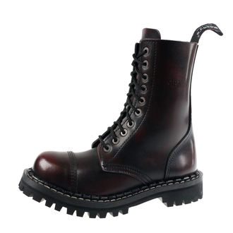 Stiefel Boots STEADY´S - 10 dírkové - Bordo schwarz, STEADY´S