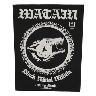 Aufnäher groß Watain - Black Metal Militia - RAZAMATAZ, RAZAMATAZ, Watain