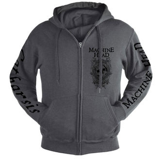 Herren Hoodie Machine Head - Clock GREY - NUCLEAR BLAST, NUCLEAR BLAST, Machine Head