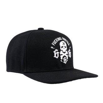 Kappe Cap HYRAW - 666 SKULL, HYRAW