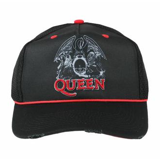 Cappy QUEEN - LINEART CREST TRUCKER, AMPLIFIED, Queen