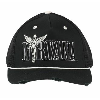 Cap Kappe NIRVANA - IN-UTERO MONOCHROME - AMPLIFIED, AMPLIFIED, Nirvana