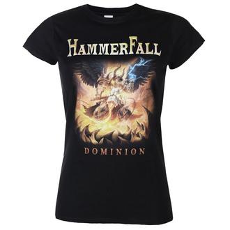 Damen T-Shirt Metal Hammerfall - Dominion - ART WORX, ART WORX, Hammerfall