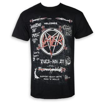 Herren T-Shirt Metal Slayer - Haunting 84 - ROCK OFF, ROCK OFF, Slayer